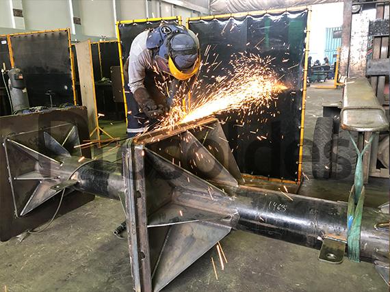 biombo para trabajos de soldadura lima perú