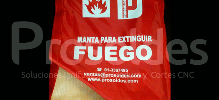 Mantas para Extinguir Fuego